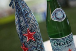 San Pellegrino water dress up in Missoni - thumbnail_3