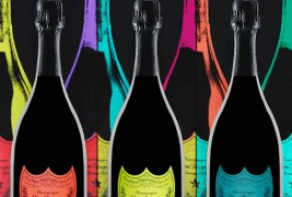 Dom Perignon's tribute to Andy Warhol