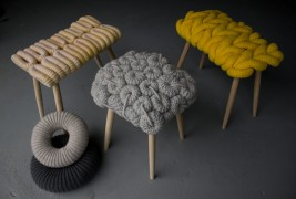 Knitted stools - thumbnail_1