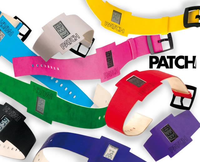 Patch: the paper watch