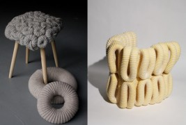 Knitted stools - thumbnail_3