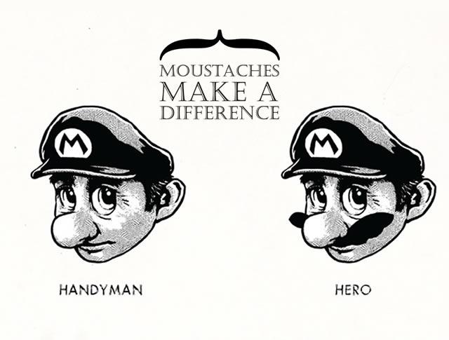 I baffi fanno la differenza