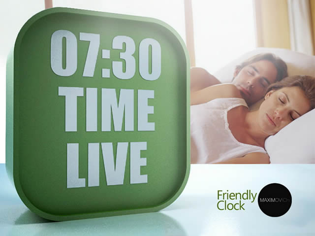 Friendly Clock the personal trainer