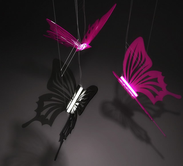 Butterflies lighting