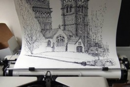 Portraits with a typewriter - thumbnail_2