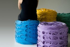 Latex Roll Pouf - thumbnail_2