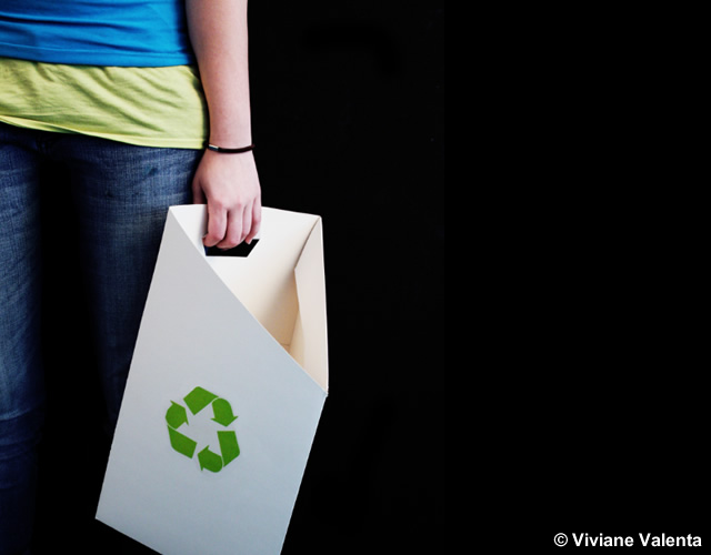 Eco Friendly Wastebasket