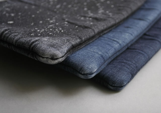 Denim iPad sleeve