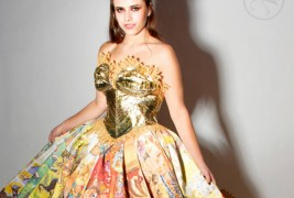 The Golden Book Gown