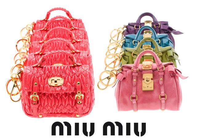 Miu Miu miniature bags