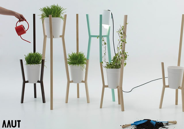 Roots modular system for gardens