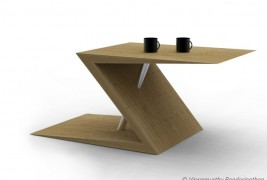 Z-tab coffee table - thumbnail_1