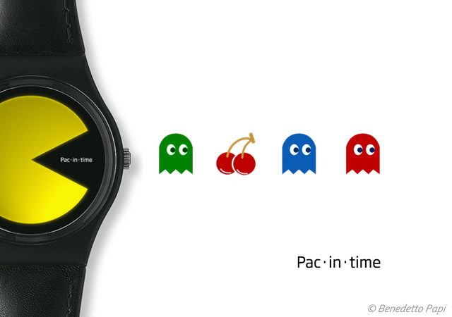 Pac-in-time concept watch