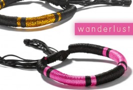 Wanderlust friendship bracelets