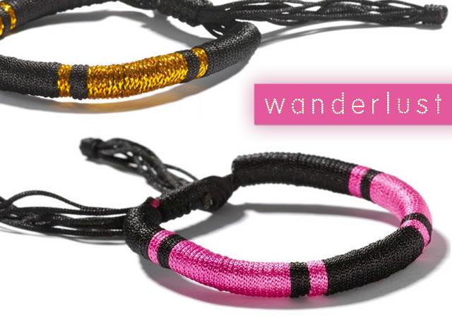 Wanderlust friendship bracelets