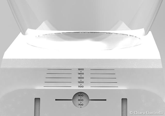 Guillotine kitchen scale