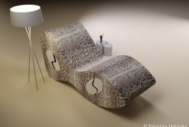 Snake Eyes lounge chair - thumbnail_1