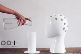Wig ceramic vase - thumbnail_2