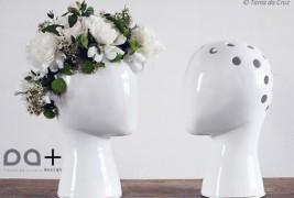 Wig ceramic vase - thumbnail_3