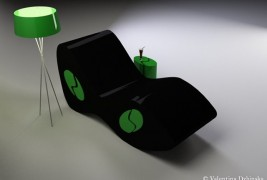 Snake Eyes lounge chair - thumbnail_3