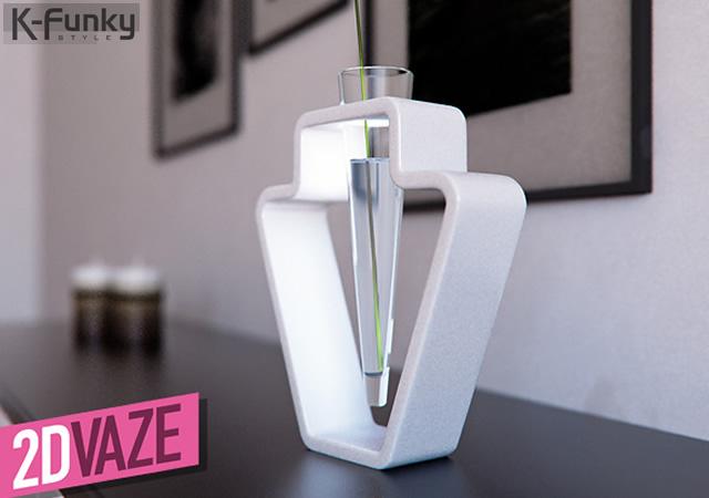 2D Vase