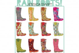 Jessica Swift Rainboots