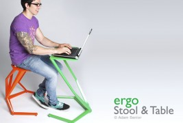Ergo stool and table - thumbnail_1