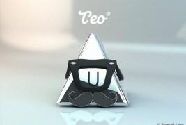 Teo Vinyl Toy - thumbnail_2