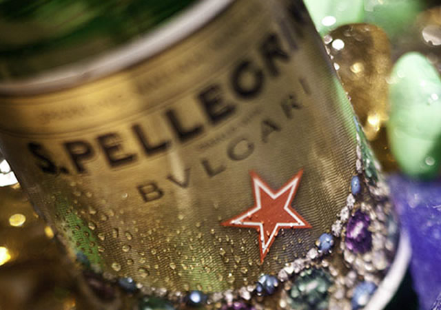 San Pellegrino sparkles with Bulgari