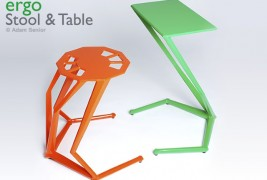 Ergo stool and table - thumbnail_2