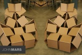 Cardboard chair - thumbnail_2