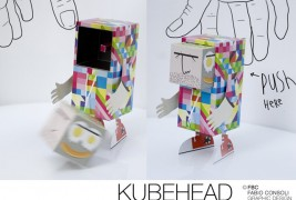 Kubehead paper toy - thumbnail_3