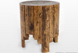 Salmi Negativo wood stool - thumbnail_4
