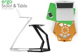 Ergo stool and table - thumbnail_4