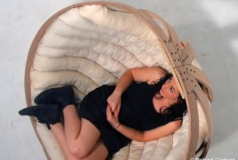 Cradle rocking chair - thumbnail_4