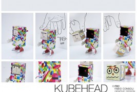 Kubehead paper toy - thumbnail_4