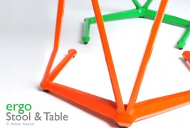 Ergo stool and table - thumbnail_5