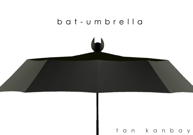 Bat-umbrella