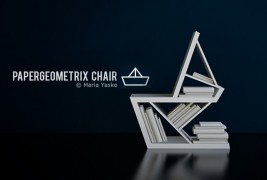 Papergeometrix chair - thumbnail_1