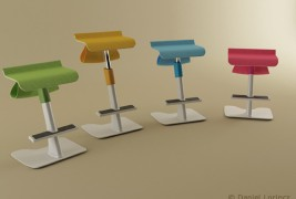 School desk and standing support - thumbnail_1