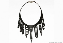 Nai Fovino leather necklaces