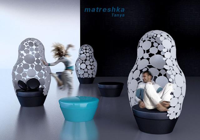 Matreshka armchair