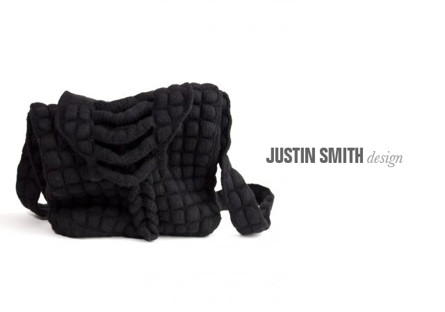 Justin Smith knitted bags