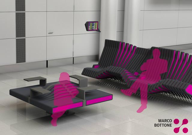 Flux modular seat