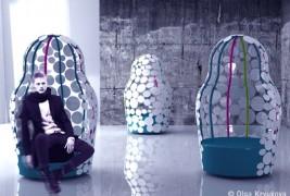 Matreshka armchair - thumbnail_1