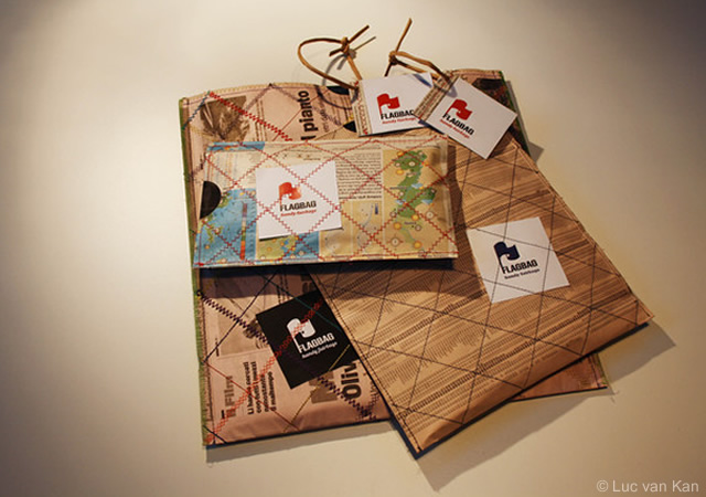 Concept packaging per Flagbag