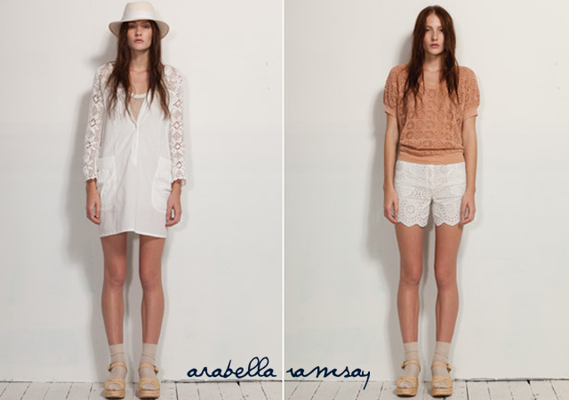 Arabella Ramsay spring/summer 2011