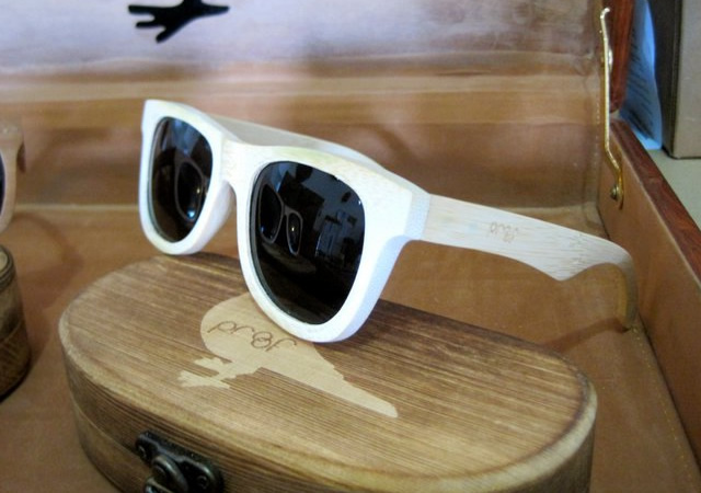Wooden eyewear