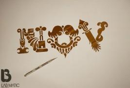 Handmade font