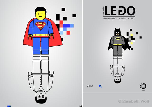 Supereroi Lego